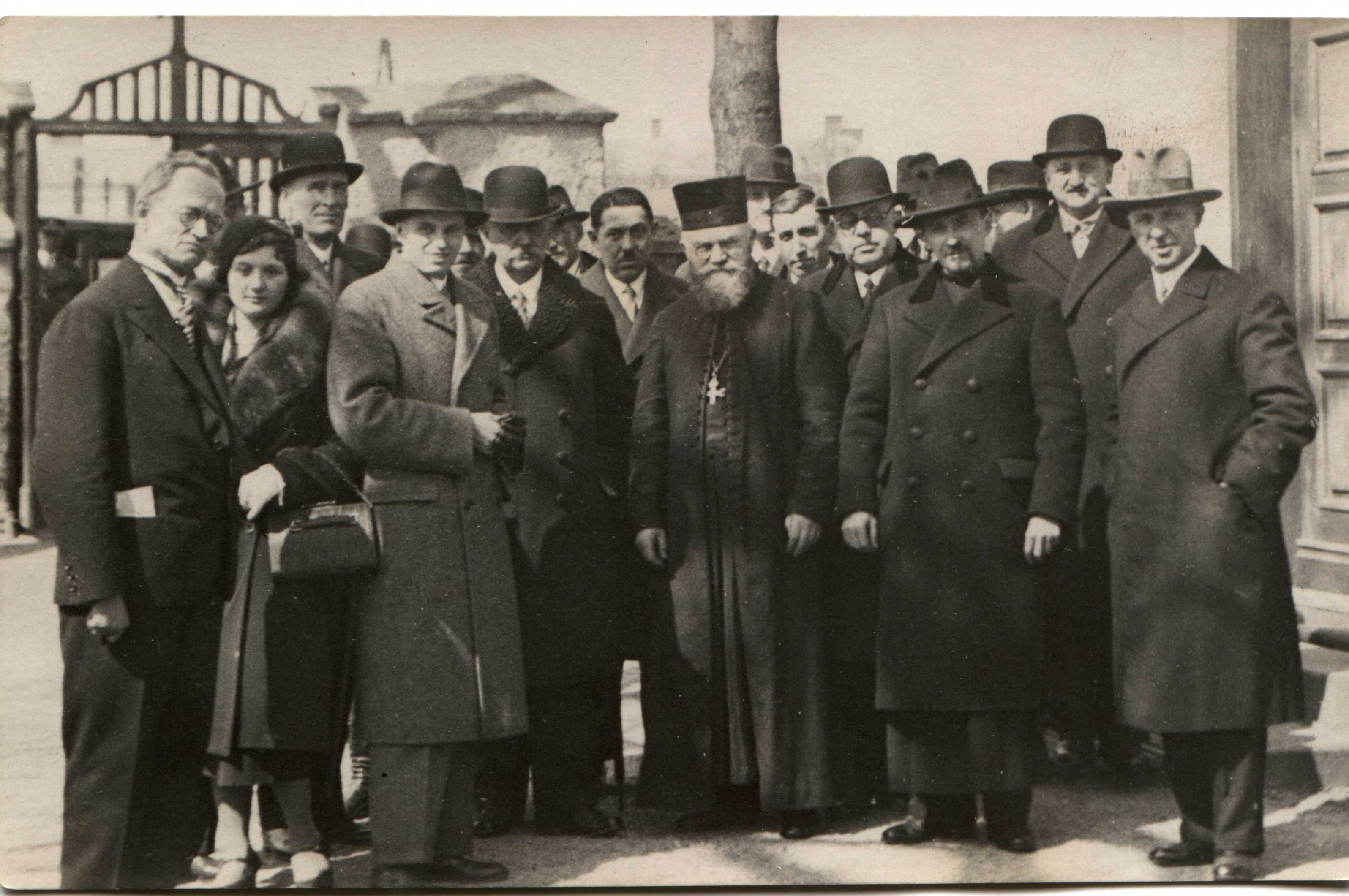 Biskup Gorazd v Přerově v roce 1933
