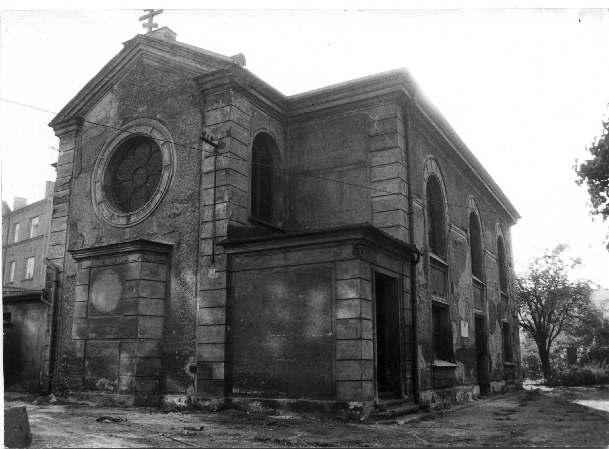 Nově zakoupený pravoslavný chrám