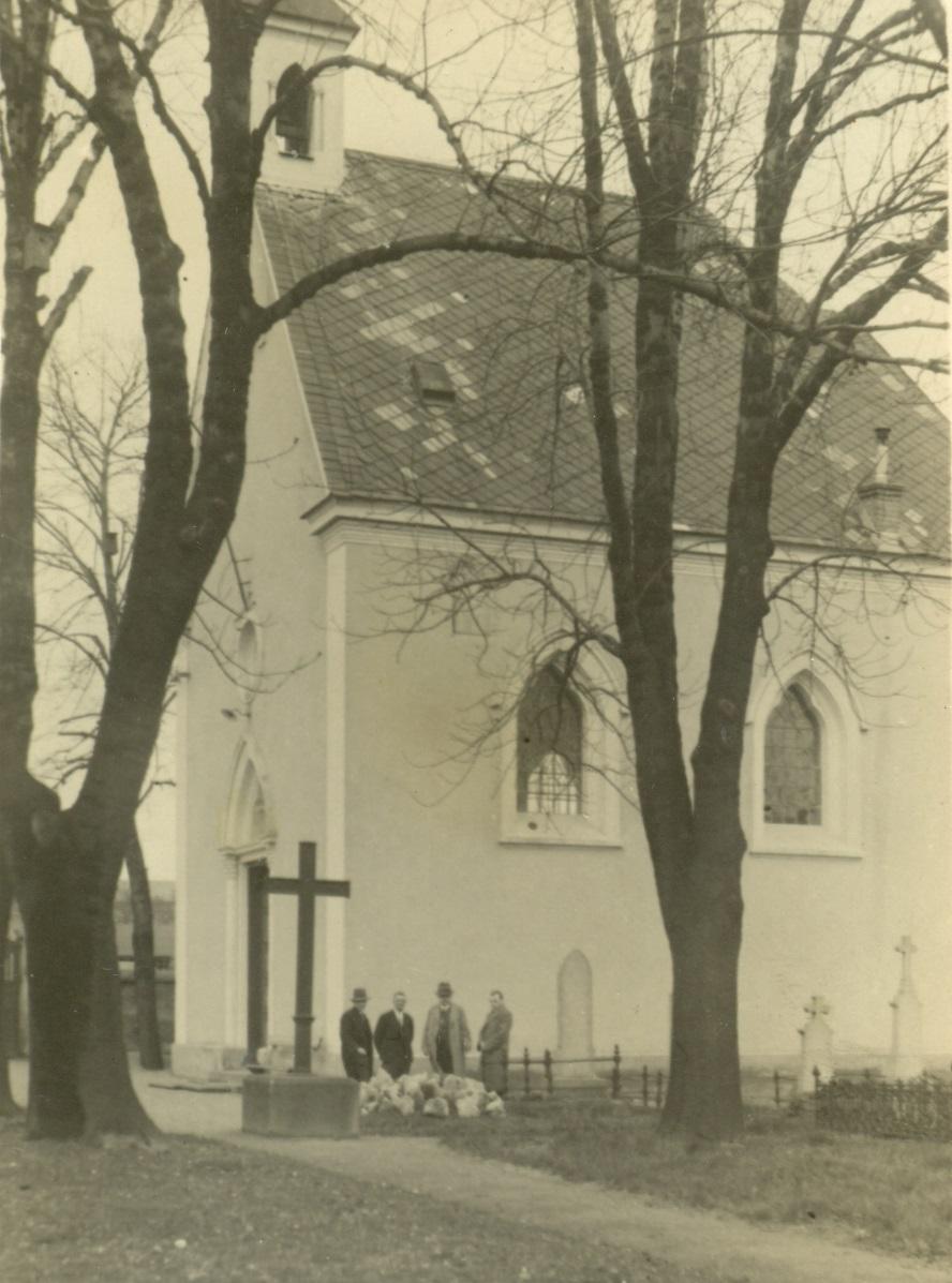 Pronajatý chrám německé evangelické církve