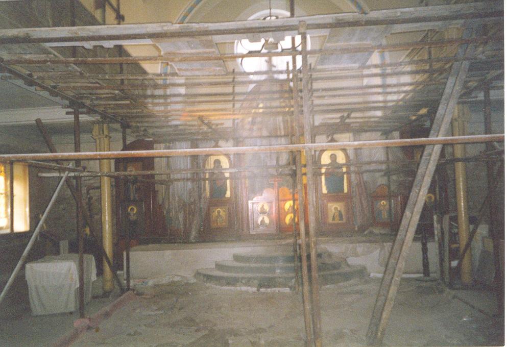 Oprava chrámu